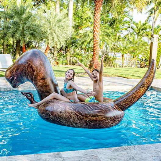 Pool Candy - Gigantic T-Rex Inflatable Pool Float - 78857