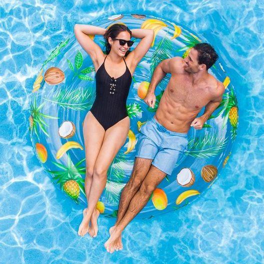 Pool Candy - Tropical Fruit Island Pool Float - 78858