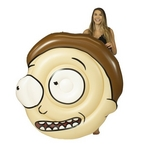 Rick and Morty Head Pool Float