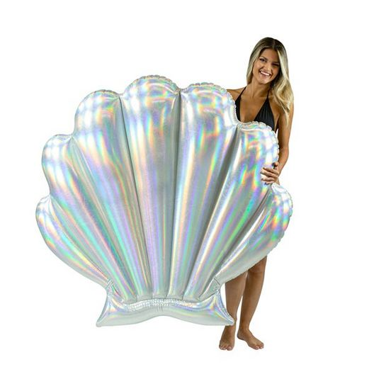 PC4711HG Holographic Oyster Shell