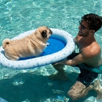 PC2301BL-F Inflatable Pet Float