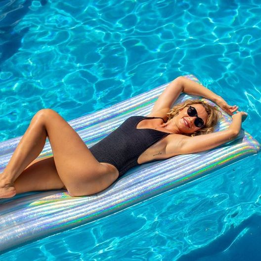 Pool Candy - PC4402HG Holographic Deluxe Raft - 78915