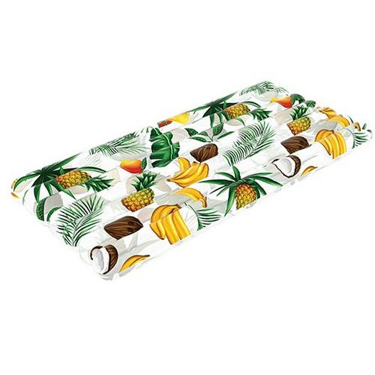 Pool Candy - RC4402TP Tropical Fruit Deluxe Raft 74 x 30 - 78918