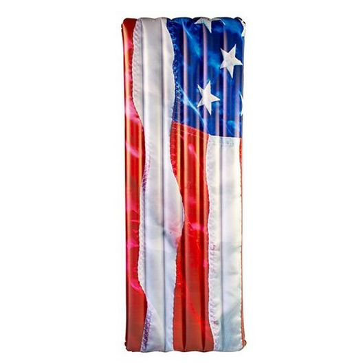 Pool Candy  US4402US Stars and Stripes Deluxe Raft 74 x 30