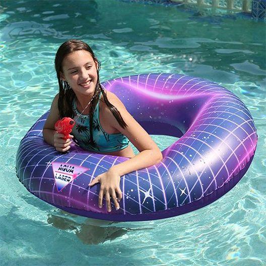 Pool Candy  PC2740LAS Aqua Laser Sound FX Pool Float 40 inch