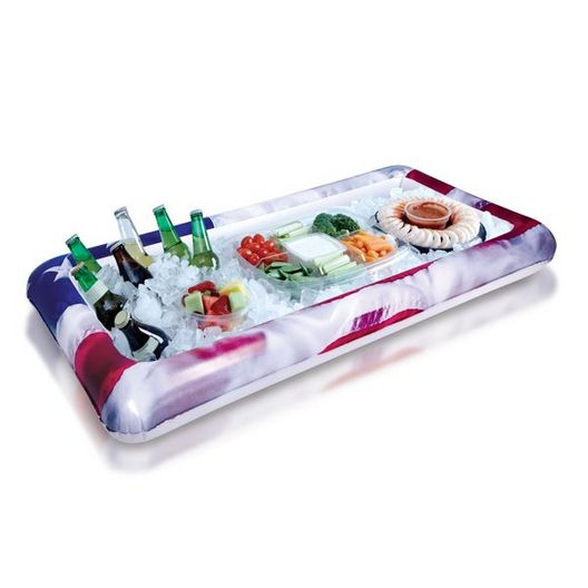 US2114US Stars and Stripes Buffet Inflatable Cooler