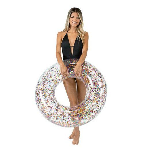 """Pool Candy - PCL1723MU Glitter 36"""" Pool Tube - Multi - 79371"""