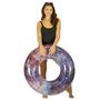 "PCL1730PK-BB Glitter Galaxy 36"" Pool Tube - Pink"