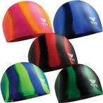 Silicone Swim Caps, Multi-Color