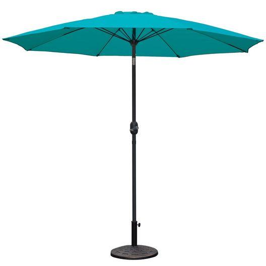Westbay - 9 ft. Market Umbrella - Teal - 79614