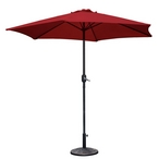 Westbay - 9 ft. Steel Umbrella - Maroon - 79617