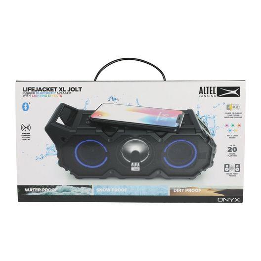 Altec Lansing  Lifejacket XL Bluetooth Speaker w Lights Black