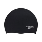 Speedo - Elastomeric Solid Silicone Cap - Black - 79832