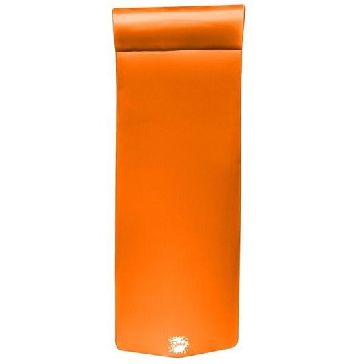 "Foam Pool Float, 1-1/4"" Thick, Orange Breeze"