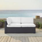 Biscayne Loveseat with Mist Cushions