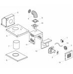 Raypak Heater D2 Heater Power Vent D2 Heater Power Vent for Models 185-405