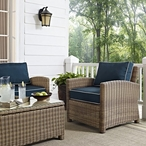 Bradenton Wicker Arm Chair