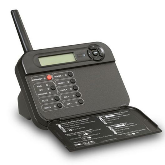 Hayward - Pro Logic and Aqua Plus Wireless Table Top Display/Keypad Black, for use with PS-4 System - 81204