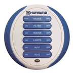 Hayward - Waterproof Wireless Spa-Side Remote 6 Function - 81261