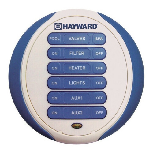 Hayward - Waterproof Wireless Spa-Side Remote 6 Function
