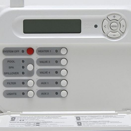Hayward  Pro Logic and Aqua Plus Wireless Wall Mount Display/Keypad White for use with PS-4 System