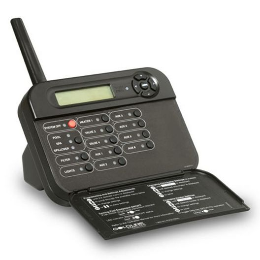 Hayward  Pro Logic and Aqua Plus Wireless Table Top Display/Keypad Black for use with PS-8 System