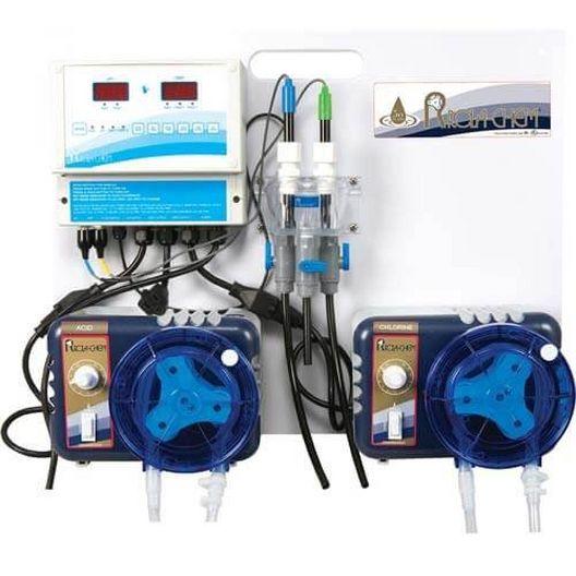 Rola-Chem  Ready-to-Mount ORP/pH Liquid Chlorine/Liquid Acid Wall System
