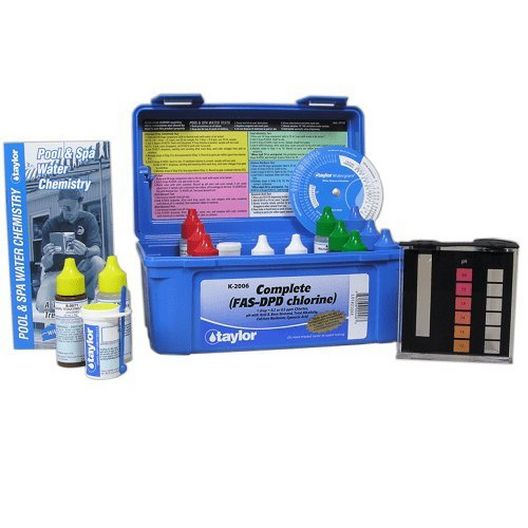 Taylor TechNologies - K-2006 Complete Pool Water Test Kit - 81329