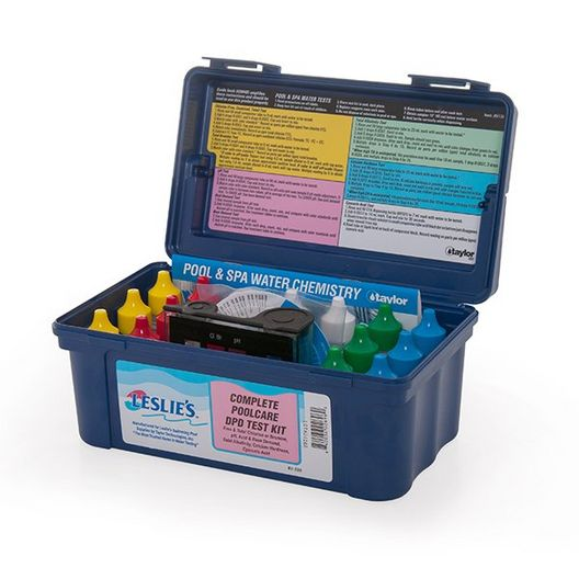 Taylor Technologies - K-2005 Complete High Range Pool and Spa Water Test Kit - 81330