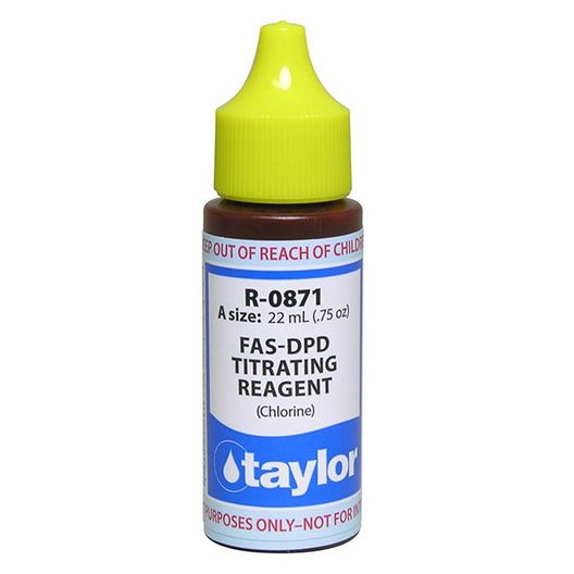Taylor Technologies - FAS-DPD Titrating Reagent, .75 oz. - 81348