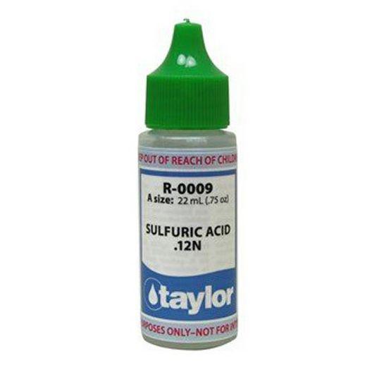 Sulfuric Acid #9 .12N, .75 oz.