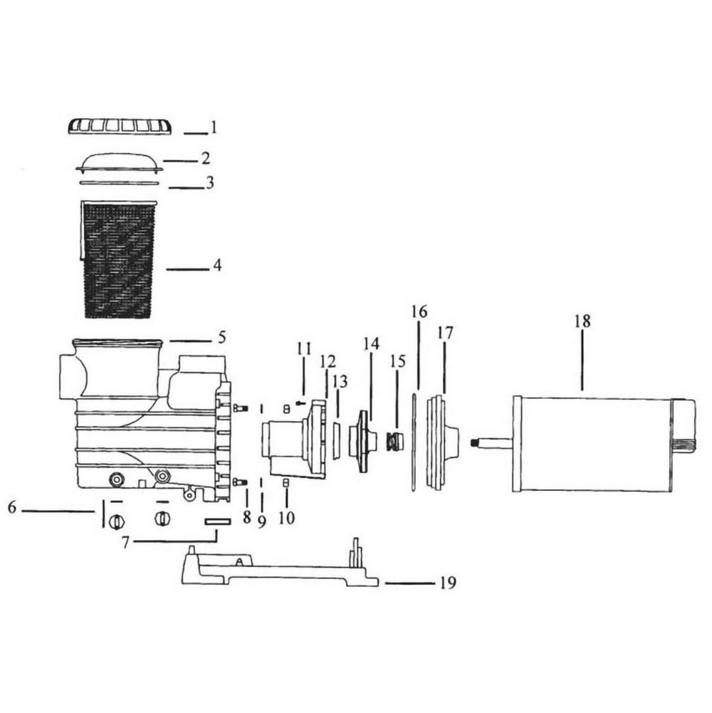 Jacuzzi Cygnet & Cygnet II Pump image