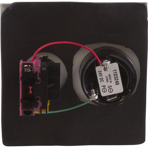 Pentair - Shut Off Switch with Alarm, Double Plate