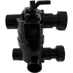 Jandy - DEL Series 2-in-1 Neverlube Multiport Backwash Valve with Pre-Plumbed Union Kit - 85032