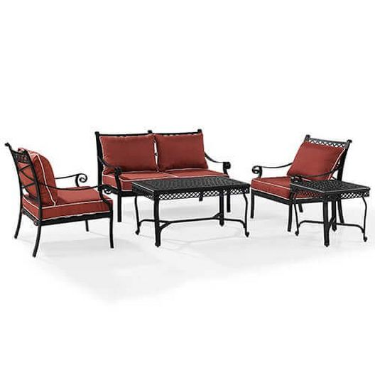 Portofino 5-Pc Aluminum Conversation Set