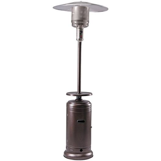 Bronze Patio Heater with Table 48K BTU