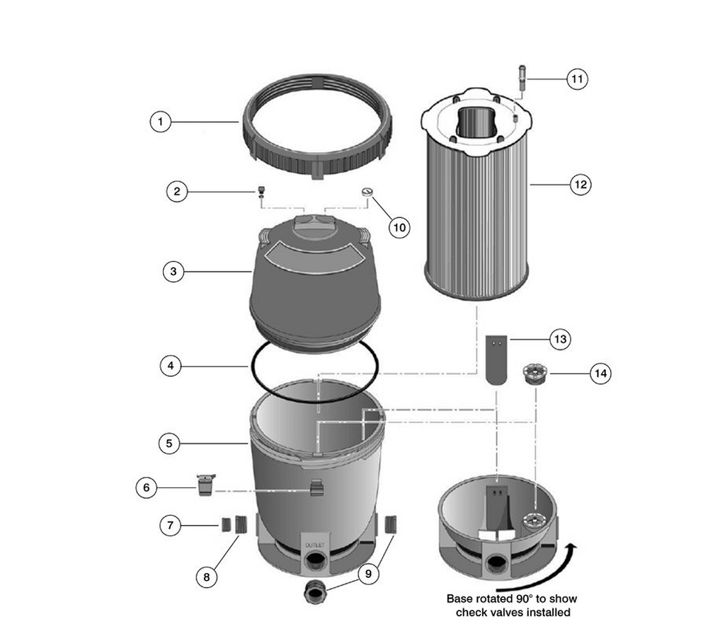 2 PLD Modular DE Filter Replacement Parts image