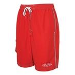 Men's Lifeguard Red Long Shorts - Medium - 86976