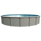 "Excursion 28' Round Above Ground Pool with 54"" Wall"
