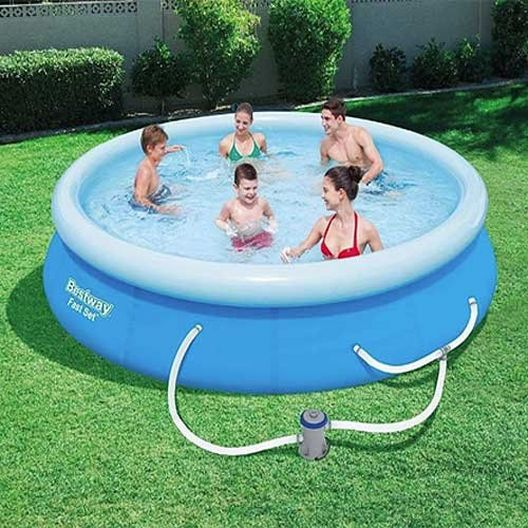 Bestway - 13 ft X 30 in Fast Set Inflatable Pool Set - 89933