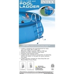 """Intex - Pool Ladder with Barrier for 48"""" Pool Wall - 89970"""