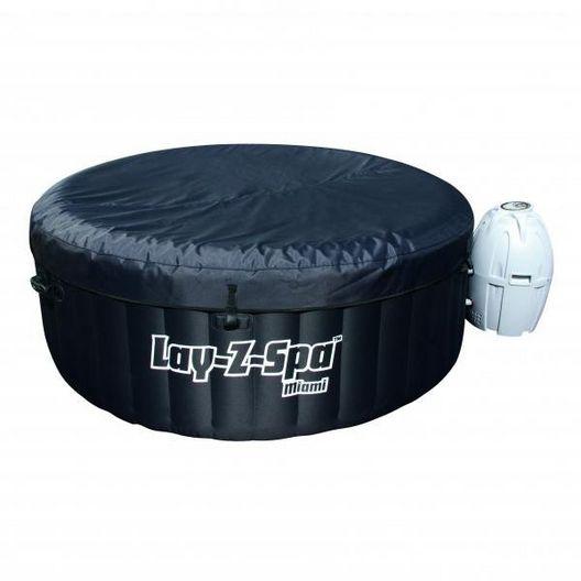 Splash - Lay-Z-Spa Miami Inflatable Hot Tub - 89980