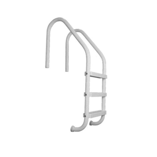 "24"" Residential 2-Step In Ground Ladder, Gray"