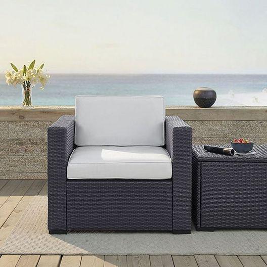 Crosley - Biscayne Armchair with Mist Cushions - 452129