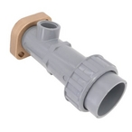 """Raypak - 2"""" CPVC CONNECTOR OUTLET PLUMBING 268-408 RAYPAK HEATER - 900161"""