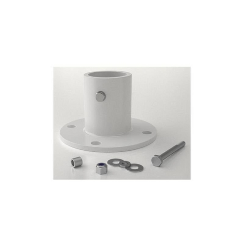 Perma-Cast - Slide deck flange, aluminum, white