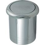 Air Button, Chrome Slim Flush Mount, B318CA