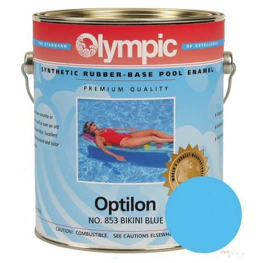 Kelley Technical Coatings - 852GL Olympic Optilon Synthetic Rubber Base Enamel Blue Ice - 301238