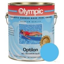 Kelley Technical Coatings - 852GL Olympic Optilon Synthetic Rubber Base Enamel Blue Ice