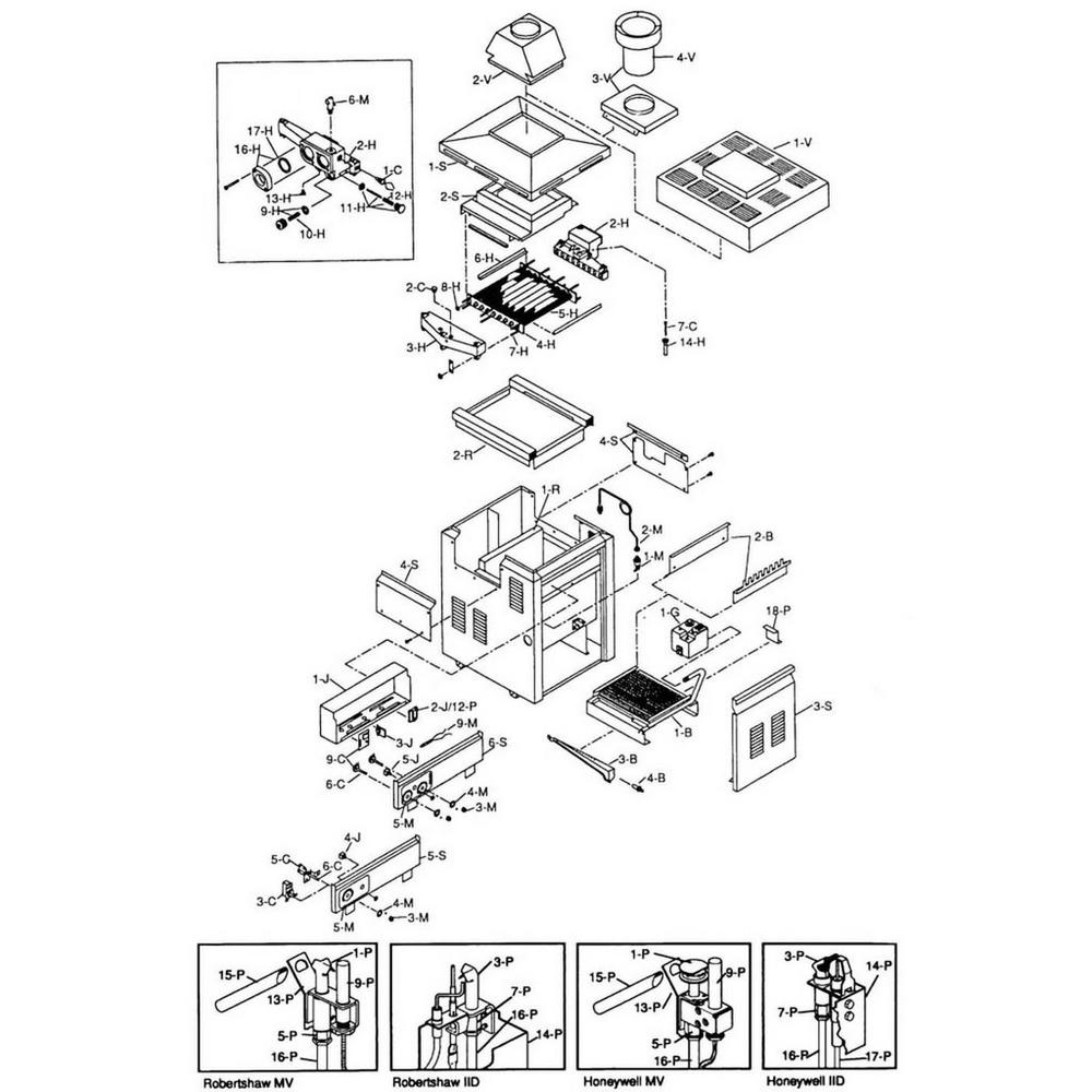 Raypak Heater 185-405 Series 185B/C-405B/C Heater image